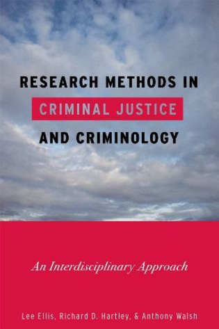 Cover image for the book Research Methods in Criminal Justice and Criminology: An Interdisciplinary Approach