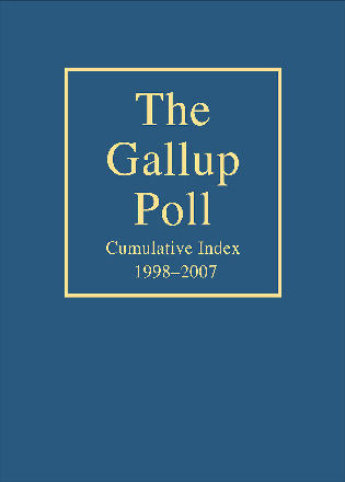 Cover image for the book The Gallup Poll Cumulative Index: Public Opinion, 1998-2007
