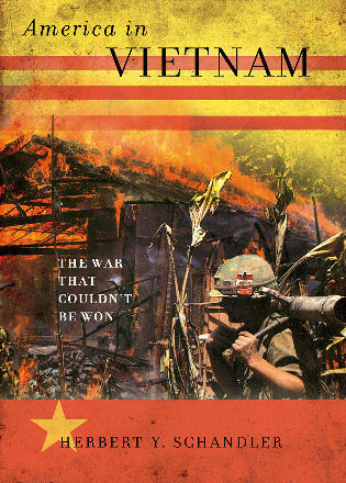 Cover image for the book America in Vietnam: The War That Couldn't Be Won