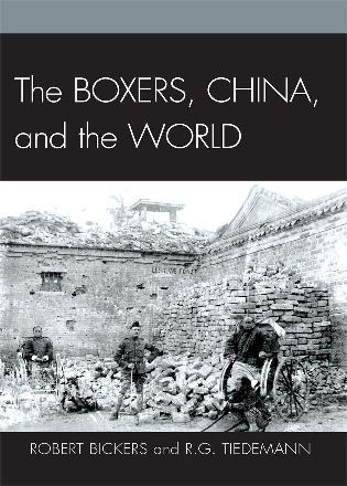 Cover image for the book The Boxers, China, and the World