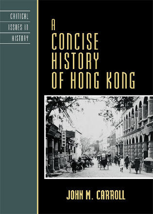 Cover image for the book A Concise History of Hong Kong