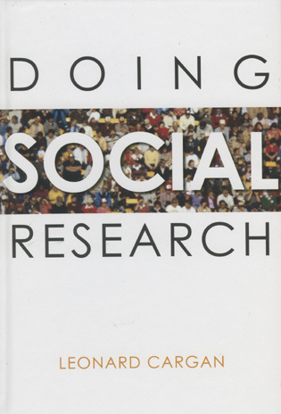 Cover image for the book Doing Social Research