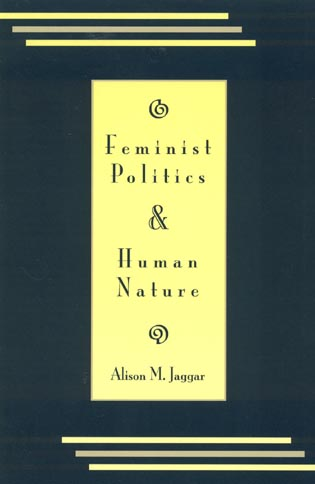 Cover image for the book Feminist Politics and Human Nature (Philosophy and Society)