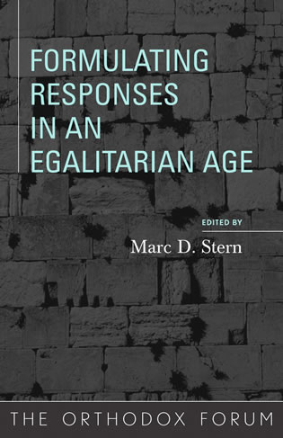 Cover image for the book Formulating Responses in an Egalitarian Age