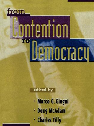 Cover image for the book From Contention to Democracy