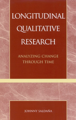 Cover image for the book Longitudinal Qualitative Research: Analyzing Change Through Time
