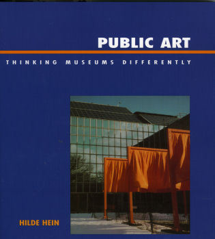 Cover image for the book Public Art: Thinking Museums Differently