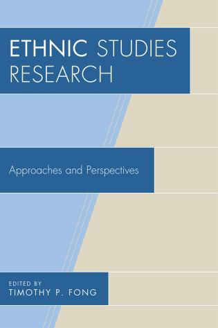 Cover image for the book Ethnic Studies Research: Approaches and Perspectives