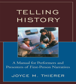 Cover image for the book Telling History: A Manual for Performers and Presenters of First-Person Narratives
