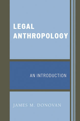 Cover image for the book Legal Anthropology: An Introduction