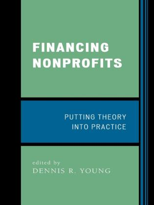 Cover image for the book Financing Nonprofits: Putting Theory into Practice