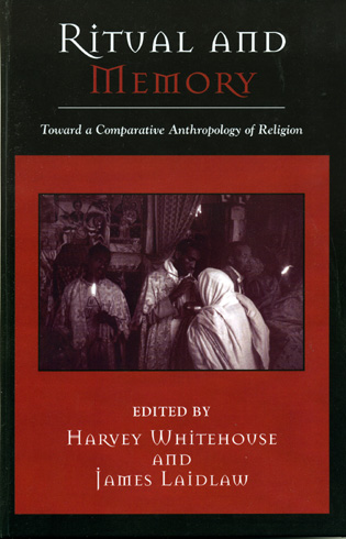 Cover image for the book Ritual and Memory: Toward a Comparative Anthropology of Religion