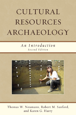Cover image for the book Cultural Resources Archaeology: An Introduction, Second Edition