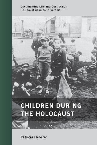 Cover image for the book Children during the Holocaust