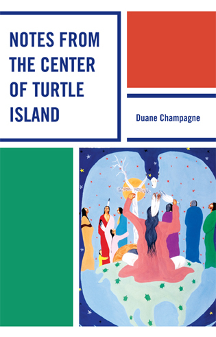 Cover image for the book Notes from the Center of Turtle Island