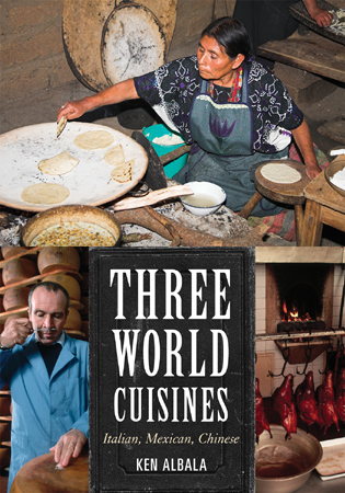 Cover image for the book Three World Cuisines: Italian, Mexican, Chinese