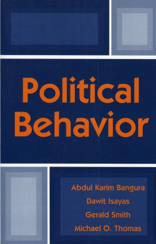 Cover image for the book Political Behavior