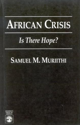 Cover image for the book African Crisis: Is There Hope?