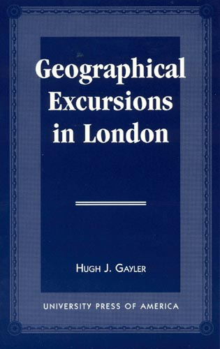 Cover image for the book Geographical Excursions in London