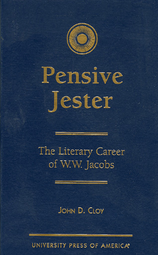 Cover image for the book Pensive Jester: The Literary Career of W.W. Jacobs