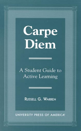 Cover image for the book Carpe Diem: A Student Guide to Active Learning