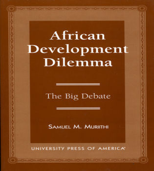 Cover image for the book African Development: The Big Debate