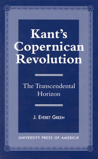 Cover image for the book Kant's Copernican Revolution: The Transcendental Horizon