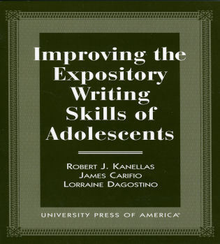 Cover image for the book Improving the Expository Writing Skills of Adolescents