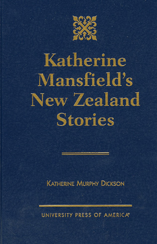 Cover image for the book Katherine Mansfield's New Zealand Stories