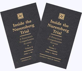 Cover image for the book Inside the Nuremberg Trial: A Prosecutor's Comprehensive Account, Vol. 1&2 (Set)