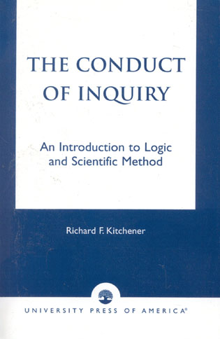 Cover image for the book The Conduct of Inquiry: An Introduction of Logic and Scientific Method