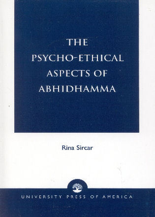 Cover image for the book The Psycho-Ethical Aspects of Abhidhamma