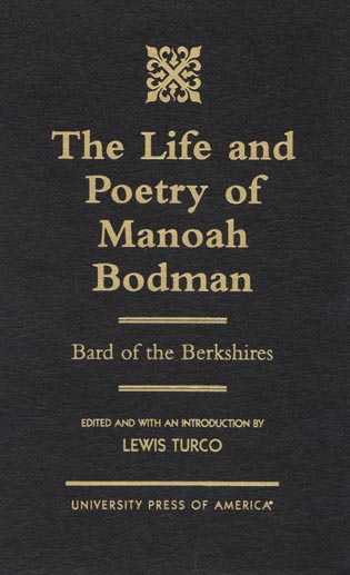 Cover image for the book The Life and Poetry of Manoah Bodman: Bard of the Berkshires