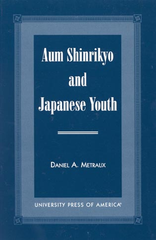 Cover image for the book Aum Shinrikyo and Japanese Youth