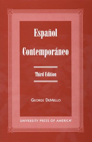 Cover image for the book Espanol Contemporaneo, Third Edition