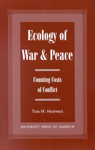 Cover image for the book Ecology of War & Peace: Counting Costs of Conflict