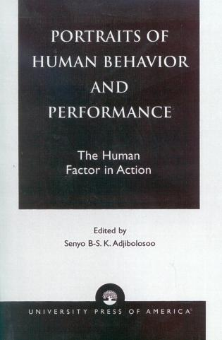 Cover image for the book Portraits of Human Behavior and Performance: The Human Factor in Action