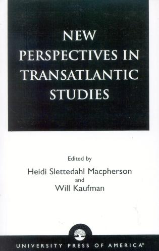 Cover image for the book New Perspectives in Transatlantic Studies