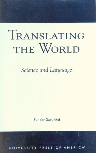 Cover image for the book Translating the World: Science and Language