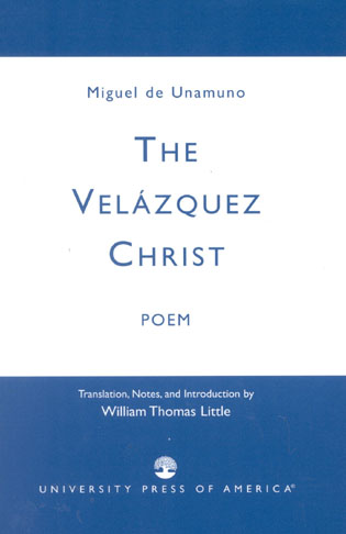 Cover image for the book The Velazquez Christ: Poem