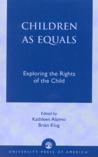 Cover image for the book Children as Equals: Exploring the Rights of the Child