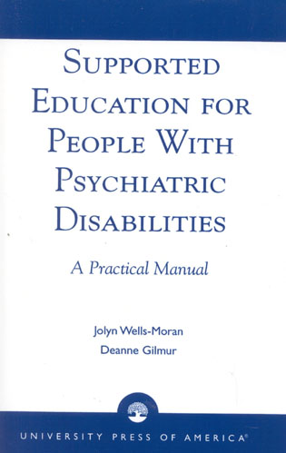 Cover image for the book Supported Education for People with Psychiatric Disabilities: A Practical Manual
