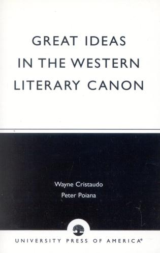 Cover image for the book Great Ideas in the Western Literary Canon
