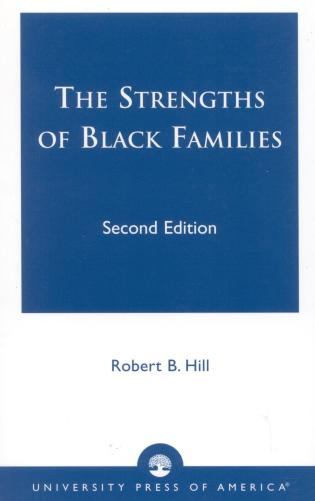 Cover image for the book The Strengths of Black Families, Second Edition