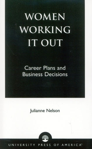 Cover image for the book Women Working It Out: Career Plans and Business Decisions