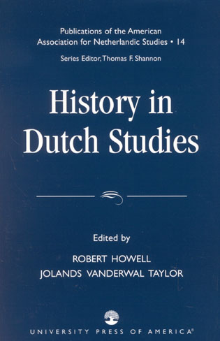 Cover image for the book History in Dutch Studies