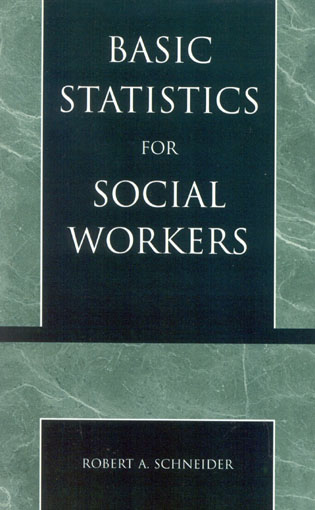Cover image for the book Basic Statistics for Social Workers