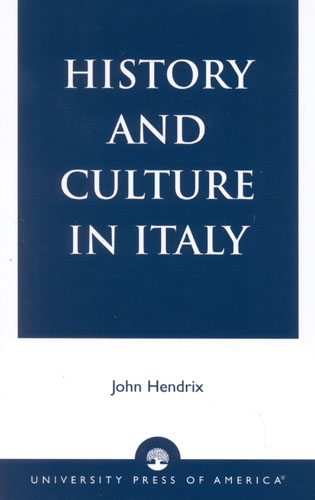 Cover image for the book History and Culture in Italy