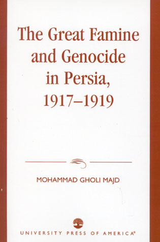 Cover image for the book The Great Famine and Genocide in Persia, 1917-1919