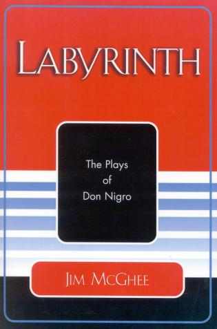 Cover image for the book Labyrinth: The Plays of Don Nigro